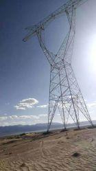 10kv-1100Multi-Terminal KV DC La ligne de transmission de puissance haute tension à l'angle de la tour d'acier