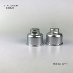 Chapado en plata de UV protectora de plástico PP Tapa superior para Cosmética embalaje