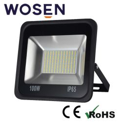 100W 24V Refond LM80 SMD LED Projecteur extérieur carré pour dispositif de plein air