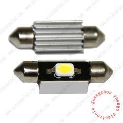 Festoon 1SMD 5050 lampe LED Canbus sans erreur de lecture automatique de la lumière avec Hearsink