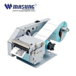 Impressora térmica de 58 mm para receber a etiqueta de código de barras a impressão de faturamento