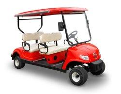強力な4 Seaterの電気ゴルフコースのゴルフカート
