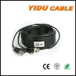 Video cavo di estensione coassiale di CC Rg58 Rg59 RG6 BNC di potere per la macchina fotografica del CCTV