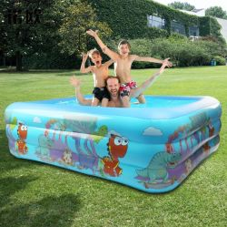 Piscina para niños piscina hinchable de la familia de baño de bebé plegable Piscina para adultos en el exterior de la cuchara de natación para bebés