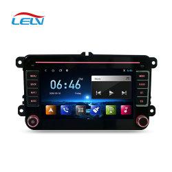 7 inch dubbele DIN-auto GPS Video DVD Audio MP4-speler Voor VW Golf met Bluetoth Mirrorlink Android Multimedia Player