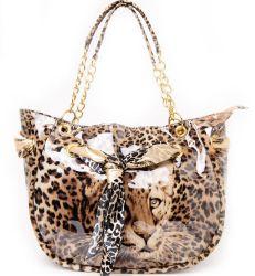 2012 Nouveau Fashion Leopard motif tête de sac à main (SAC-4192)