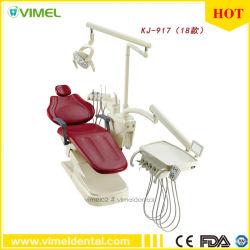 Unidade de cadeira odontológica Equipamento médico eléctrico Integral Unidade Dental com luz de cura do contador
