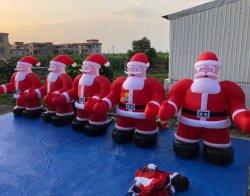 Bekanntmachen der aufblasbaren Vater-Weihnachtsweihnachtsmann-Produkte