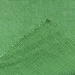 Ebene gefärbtes Bambusart-Leinenrayon-Gewebe