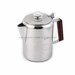 9 xícara de café chaleira Fast Brew Percolator Pot Fogão Cafeteira viável para viajar