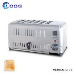 El uso comercial de la cocina tostador tostador automático Desayuno Mini máquina mejor fabricante tostador tostador de corte 6
