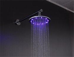 LEDのシャワー・ヘッドの雨およびコックのSUのステンレス鋼