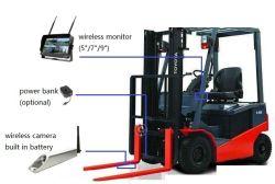 Chariot élévateur à fourche caméra IR Batterie 12V MONITEUR LCD sans fil 2.4G de rétroviseur