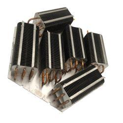 Aletta di alluminio personalizzabile 1000 del radiatore del radiatore del condotto termico di alto potere W