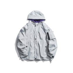 봄과 가을 새로운 비행 재킷 남자는 재킷 재킷 젊음 얇은 여가 비행 한 벌 동향을 푼다