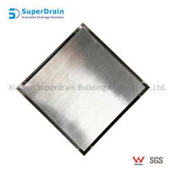 Großhandelsmetallschwarzes Badezimmer-Titangitter China-Superdrain