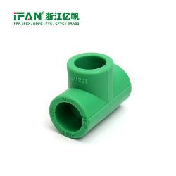 Ifan Rohrfitting-Plastikgleichgestellt-T-Stück des kalten u. Heißwasser-Pn25 20-110mm PPR