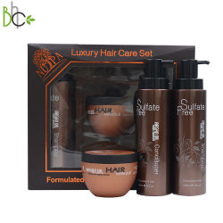 La cura di capelli di Profissional del contrassegno privato ha arricchito il regalo dell'olio del Argan per uso personale del salone cosmetico
