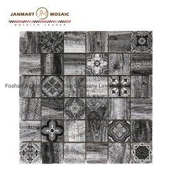 Mosaico naturale del marmo delle mattonelle di mosaico delle mattonelle della parete di pietra per la decorazione della camera da letto