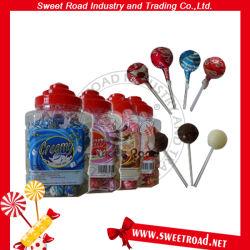 12g сливочный ассорти Lollipop с прозрачным куполом десен