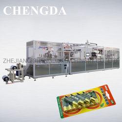 Impilatrice automatica/batteria/carta alimentare Blister plastica formatura imballaggio macchina impacchettatrice
