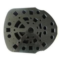 غير - معايرة أجزاء من ألياف الكربون CNC ماكر ماكر Miling الكربون أجزاء معالجة الألياف