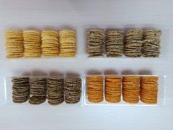 Arroz torrado Crackers Xby5 sabores misturados