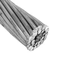 ASTM IEC BS الألومنيوم المكسو بالألومنيوم بالكامل الألومنيوم المكسو كبل طاقة AAC للموصل العلوي للأسلاك الكهربائية من نوع Strand ACSR الخاصة بالموصل