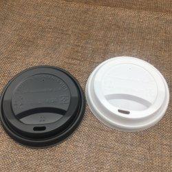 La couleur personnalisée tasse à café en papier jetables couvercle en plastique