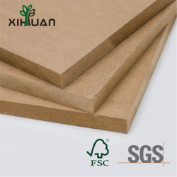 Le revêtement UV Poplar// pin Oak/Plain/Fancy/Mélamine MDF (panneaux de fibres à densité moyenne) pour le mobilier ou de l'emballage