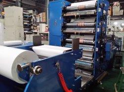 L'éco solvant PVC carte rouleau étiquette Flexo Imprimante couleur grand format fabriqués en Chine avec rouleau de anilox en céramique