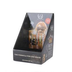 Comida de brinquedos de papel ondulado Chocolate doce perfume de cosméticos de caneta na caixa de exibição de produtos a retalho