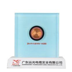 1*300mm2 de baixo&isolamento de PVC de Média Tensão elétrica subterrânea/cabo de energia elétrica para transmissão de potência.