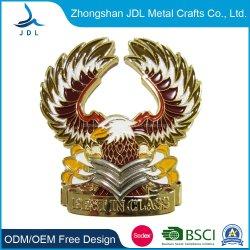 Commerce de gros de nouveaux correctifs de conception personnalisée PVC Sac Boîte Antique Banque Défi en alliage de métal or/Coin (570)