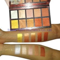 O OEM grande marca de cosméticos de qualidade Espelho Bronzer Paleta Eyeshadow Makeup Face Marcador