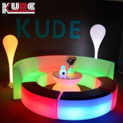 De nouveaux ensembles de meubles de patio de l'éclairage à LED avec télécommande