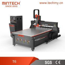 Cnc-Fräser-China-Zubehör-Stich und Ausschnitt-Maschinerie für Zeichen/Advertizing/PVC/Plastic/Wood