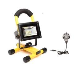 재충전용 투광램프 LED 일 빛, 옥외 하이킹을%s, 야영해서 방수, USB를 가진 휴대용 투광램프는 비상사태 안전 점화한다 (BPR5000)