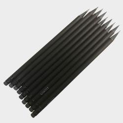Unique en bois noir personnalisé crayon crayon de charpentier