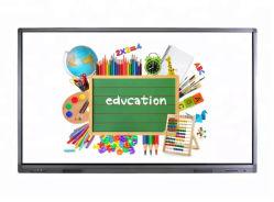 """La resolución 4K IR escritura precisa 75"""" pantalla táctil para la educación"""