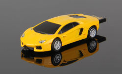 Professional OEM de la fábrica de PVC de la forma de coche USB Flash Drives personalizar su propio coche Cool USB