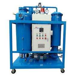 Purificador de sofisticada máquina de purificación de Aceite de Turbina de Ty deshidratación vacío