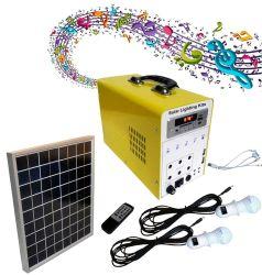 15W 7Ah Teclado pagar para que você vá iluminação solares Kits do Sistema
