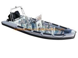 Patrouillenboot des Wellen-Stern-7.5m der Rippen-25feet/steifes aufblasbares besichtigenboot