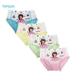 Kind-Serien-bequeme Baumwollbaby-Unterwäsche-kleine Mädchen-sortierte Schriftsatz-Prinzessin Panties (Satz von 4)