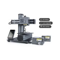 De kleine CNC van de Printer van de Hars van de Desktop 3D Scherpe Machine Snapmaker van de Laser