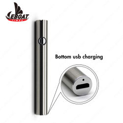 Batteria ricaricabile della penna di Vape dell'olio di Cbd della sigaretta elettronica variabile di tensione