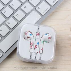 iPhone를 위한 3.5mm 잭 TPE 이어폰 헤드폰 에서 귀에 의하여 타전되는 이어폰