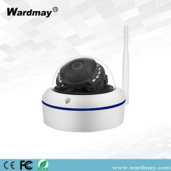 Сверхпрочная вандалозащищенная купольная камера беспроводная IP камера 5.0MP инфракрасного ночного видения Onvif WiFi видеокамеры SD запись