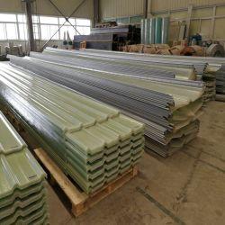 GRP PRF composite feuille transparente de toiture en fibre de verre de prix